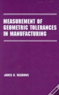 Wook.pt - Measurement Of Geometric Tolerances In Manufacturing