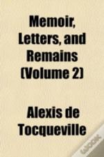 Memoir, Letters, And Remains (Volume 2)