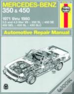 Mercedes-Benz 350 And 450 V8'S 1971-80 Owner'S Workshop Manual