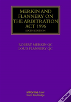 Wook.pt - Merkin And Flannery On The Arbitration Act 1996