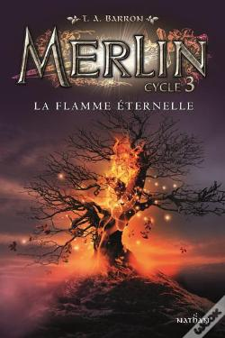Wook.pt - Merlin Cycle 3 - Tome 3 La Flamme Eternelle - Volume 03