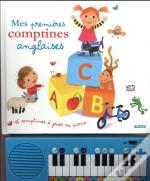 Mes Comptines Anglaises - 15 Partitions A Jouer (Coll. Mon Livre-Piano)