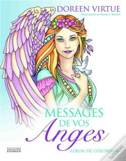Wook.pt - Messages De Vos Anges ; Album De Coloriage