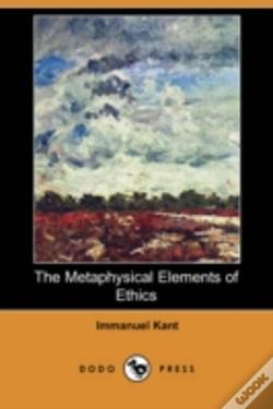 Wook.pt - Metaphysical Elements Of Ethics