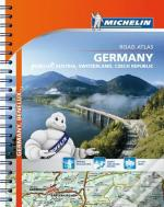 Michelin Atlas Germany, Benelux, Austria, Switzerland, Czech Republic (A4)