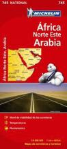 Michelin Mapa Africa Norte-Este, Arabia