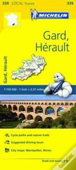 Michelin Mapa Local França: Gard, Hérault