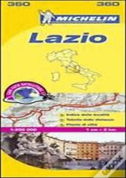 Michelin Mapa Local Itália: Lazio