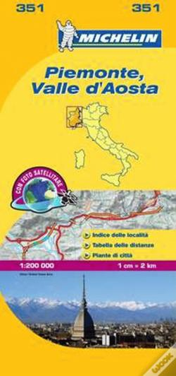 Wook.pt - Michelin Mapa Local Itália: Piemonte - Valle D'Aosta