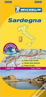 Michelin Mapa Local Itália: Sardegna
