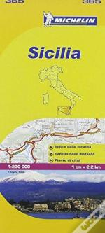 Michelin Mapa Local Itália: Sicilia