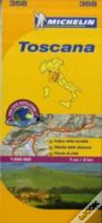 Michelin Mapa Local Itália: Toscana