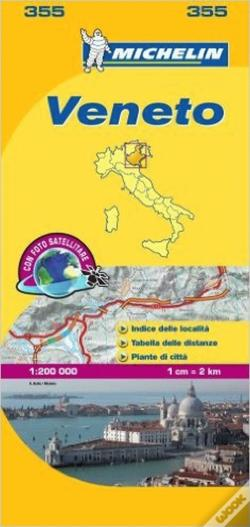 Wook.pt - Michelin Mapa Local Itália: Veneto