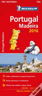 Michelin Mapa Portugal/Madeira