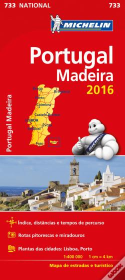 Wook.pt - Michelin Mapa Portugal/Madeira