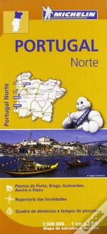 Michelin Mapa Regional Portugal Norte
