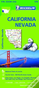 Michelin Mapa Zoom U.S.A.: California - Nevada