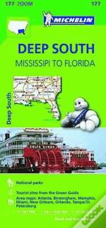 Michelin Mapa Zoom U.S.A.: Deep South