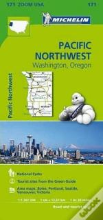 Michelin Mapa Zoom U.S.A.: Pacific Northwest