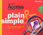 Microsoft Access Version 2002 Plain And Simple