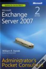 Microsoft Exchange Sever 2007 Administrator'S Pocket Consultant