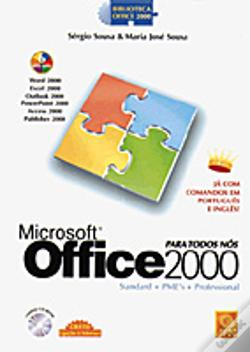 Wook.pt - Microsoft Office 2000 Para Todos Nós