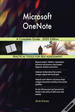 Wook.pt - Microsoft Onenote A Complete Guide - 2020 Edition