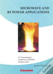 Microwave And Rf Power Applications ; 13th International Conference Ampere Toulouse 2011