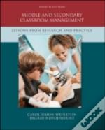 Middle And Secondary Classroom Management: Lessons From Research And Practice