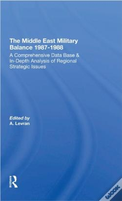 Wook.pt - Middle East Military Balance 1987-1988