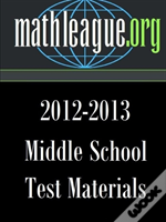 Middle School Test Materials 2012-2013