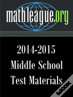 Middle School Test Materials 2014-2015