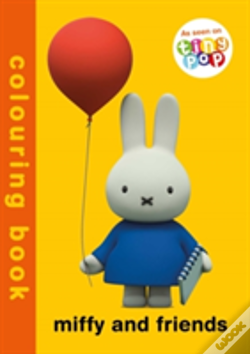 Wook.pt - Miffy And Friends Colouring Book