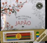 Mini Colorir Anti-Stress Japão pack