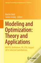 Modeling And Optimization: Theory And Applications