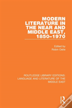 Wook.pt - Modern Literature In The Near And Middle East, 1850-1970