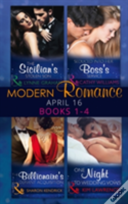 Wook.pt - Modern Romance April 2016 Books 1-4