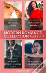 Modern Romance Books 5-8 July 2019