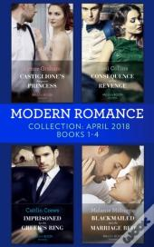 Modern Romance Collection: April 2018 Books 1 - 4