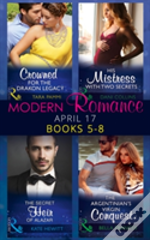 Modern Romance Collection: April Books 5 - 8