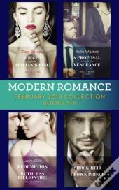 Modern Romance Collection: February 2018 Books 5 - 8 (Mills & Boon E-Book Collections)