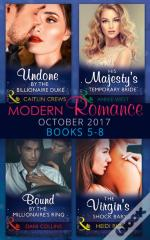 Modern Romance Collection: October 2017 5 - 8