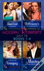 Modern Romance July 2016 Books 1-4