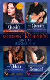 Modern Romance June 2016 Books 1-4