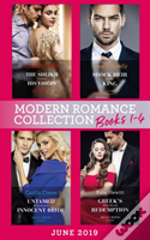 Modern Romance June 2019 Books 1-4