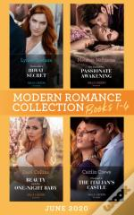 Modern Romance June 2020 Books 1-4