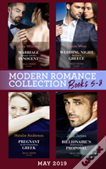 Modern Romance May 2019: Books 5-8