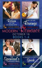 Modern Romance October 2016 Books 1-4