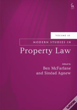 Wook.pt - Modern Studies In Property Law, Volume 10