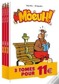 Wook.pt - Moeuh ! - Pack Tome 1 - Tome 2 - Tome 3
